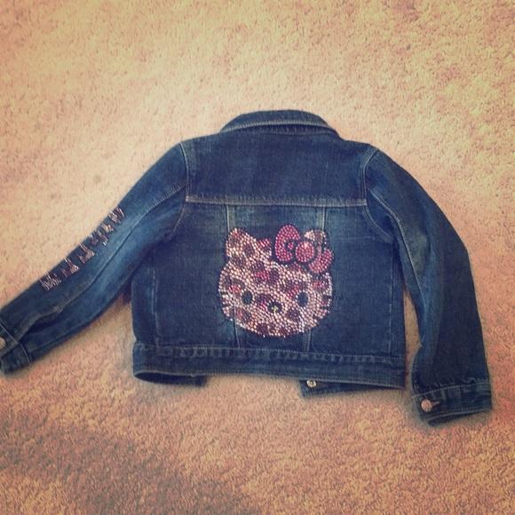 e69f6a8ca Levi's Jackets & Coats | Hello Kitty Levis Toddler Jean Jacket 3t ...